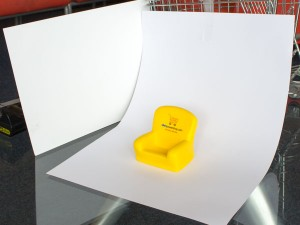 example of photography set up