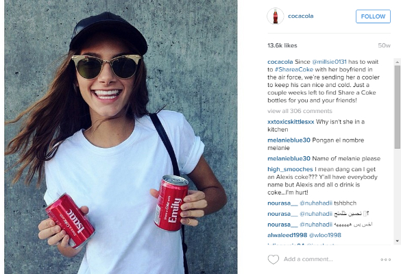 coca cola happy customer 1