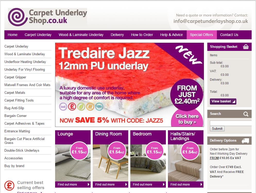 carpet underlay scr