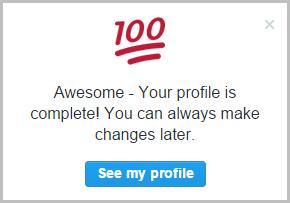 profile-complete