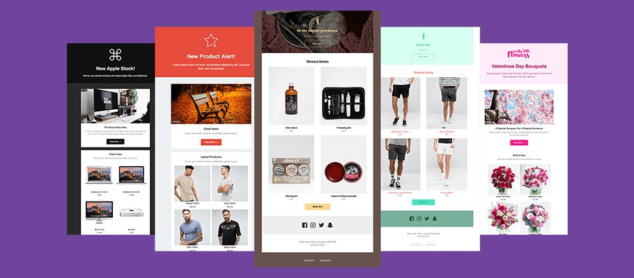 Free email templates