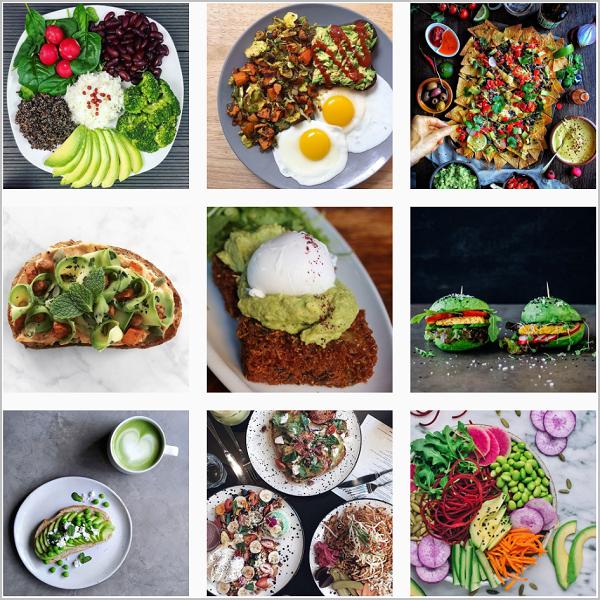 Avocado on instagram