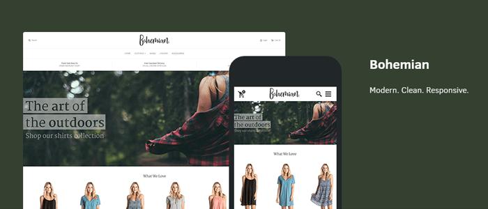 bohemian eCommerce theme