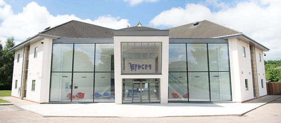 front of new ekm office fulwood preston
