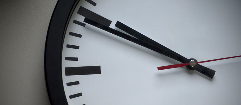 The clock is ticking - setting up an online business