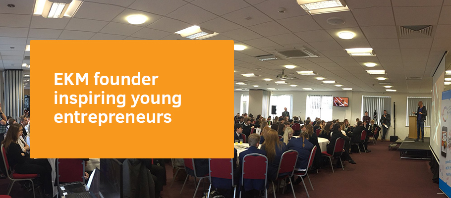 EKM founder inspiring young entrepreneurs