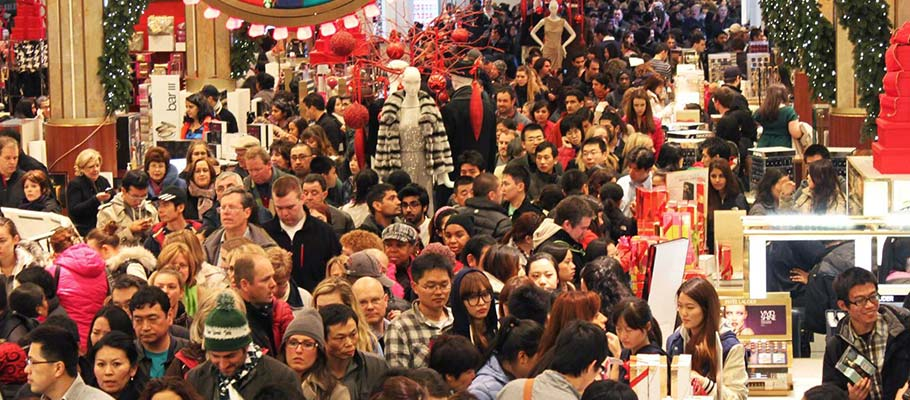 Black Friday shoppers - they're coming!