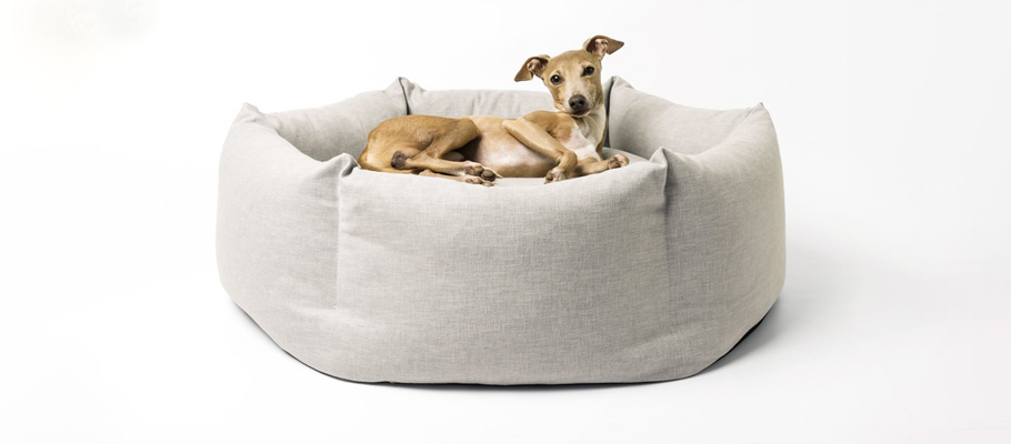 ecommerce product photo - dog bed