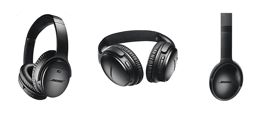 product photo - bose headphones