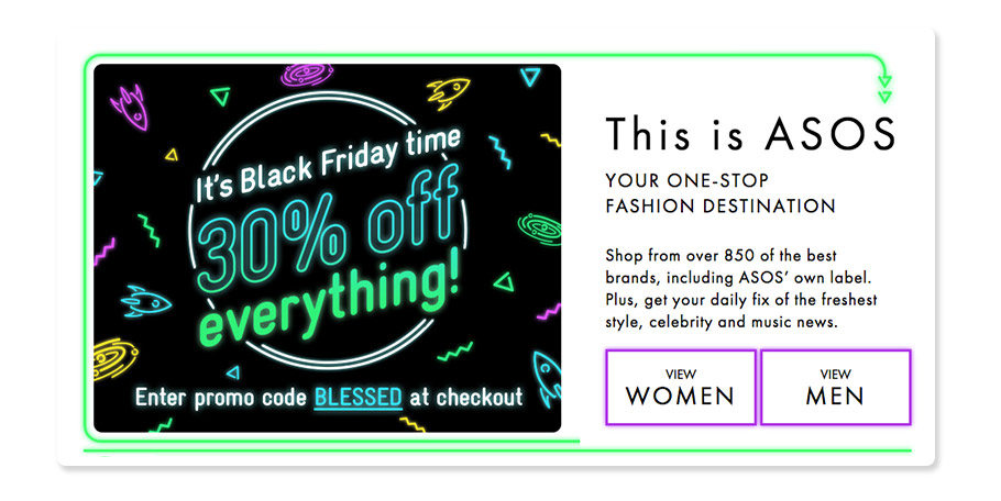 black friday ecommerce guide - discount codes