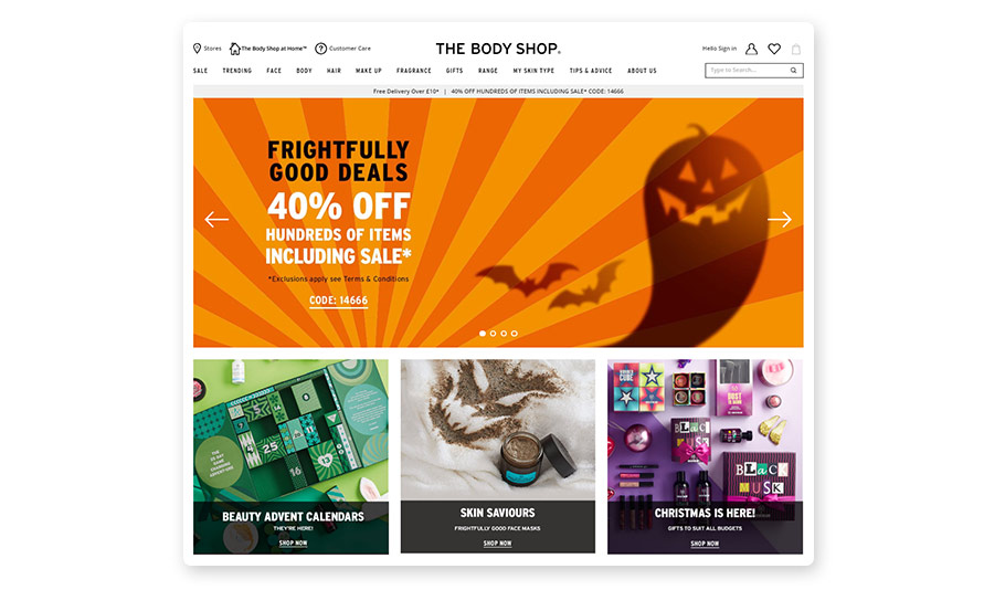 Making your Halloween offer stand out