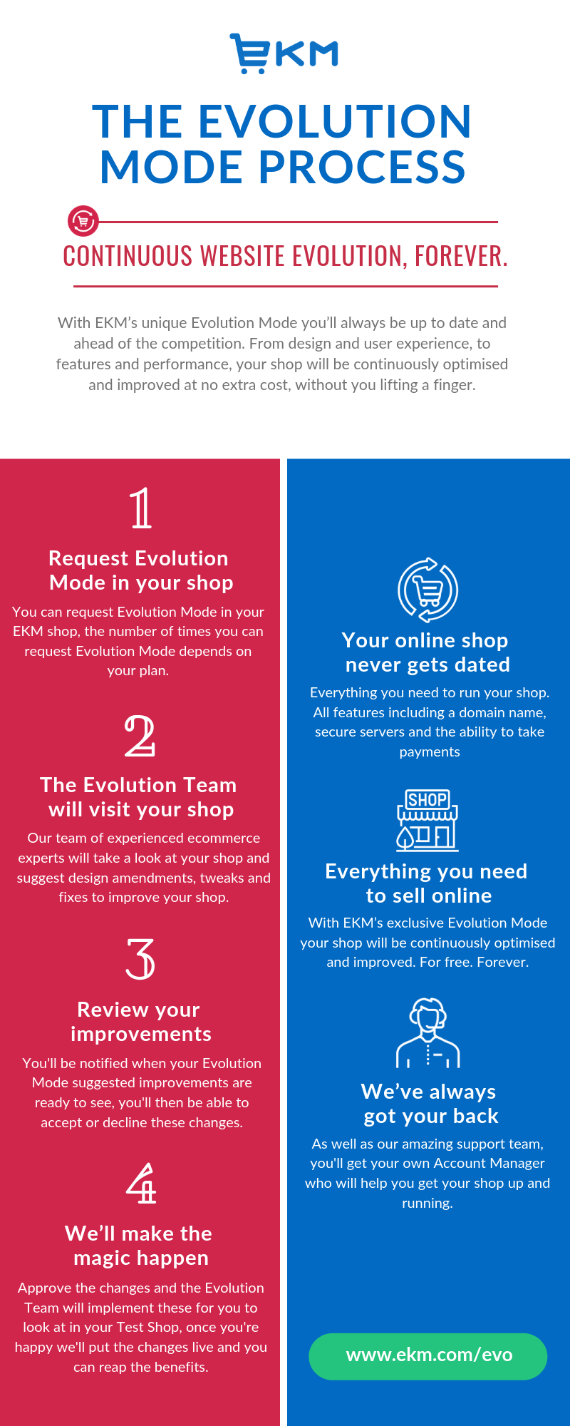 Evolution Mode - The process