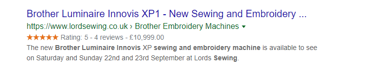 seo schema-markup - lordsewing