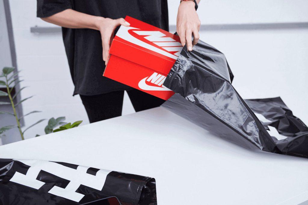 personalised mailing bag