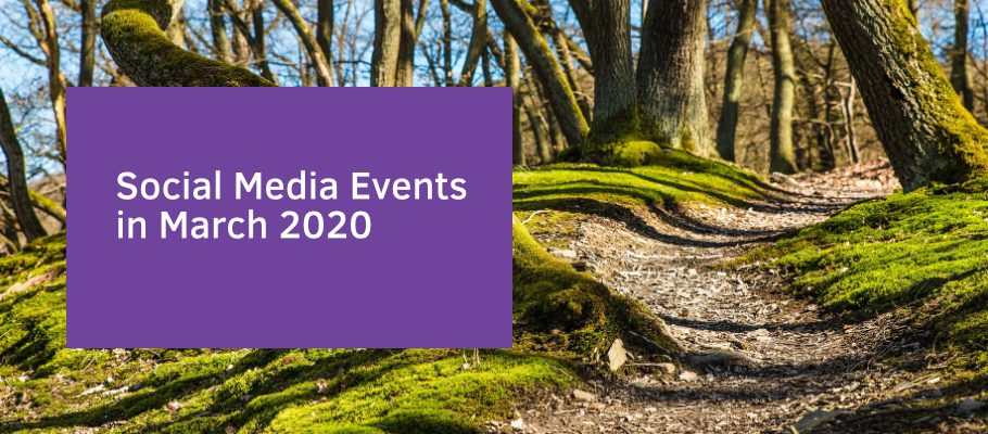 Social Media Events in March 2020