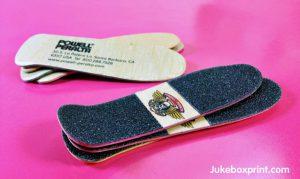 skateboard - business card