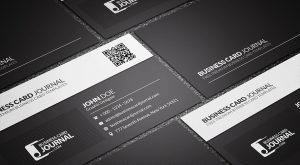 black-white-business-card