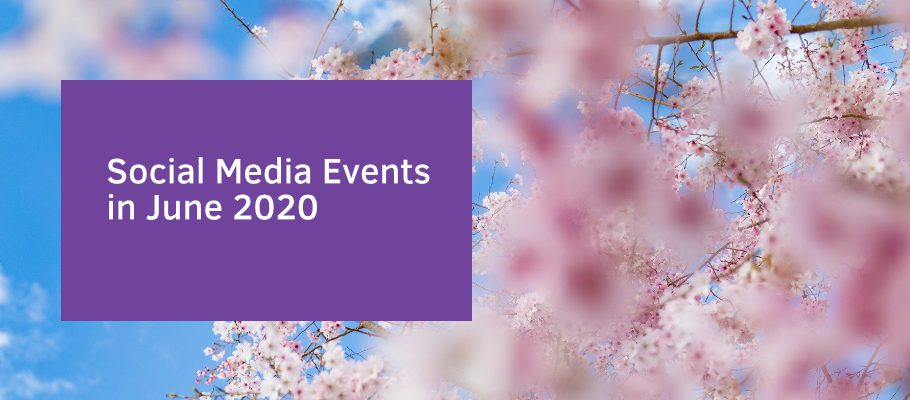 Social Media Events in June 2020