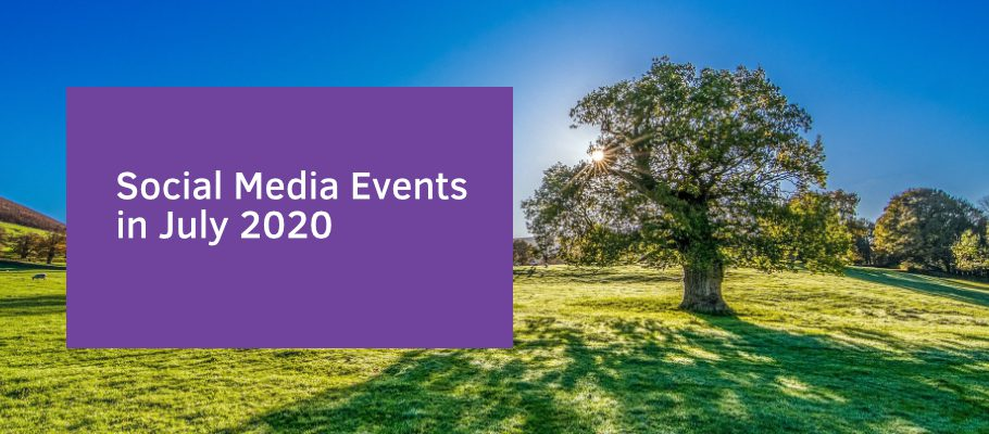 Social Media Events in July 2020