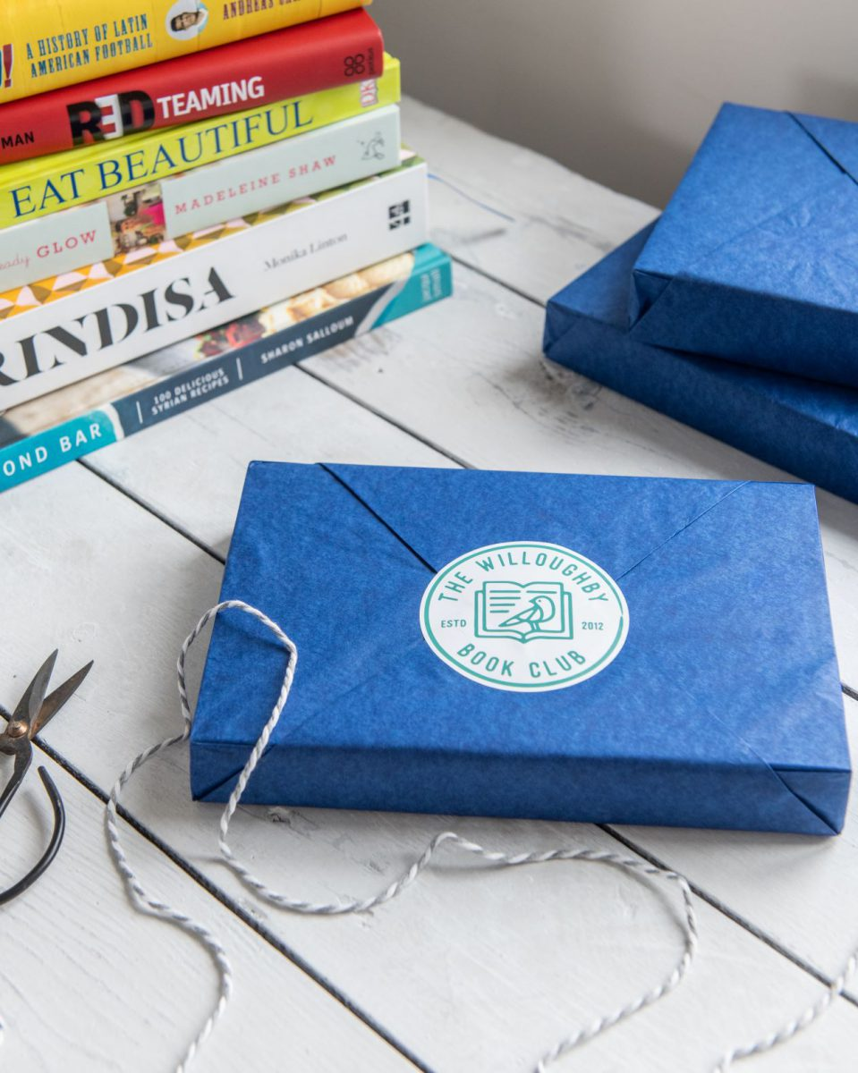 Willoughby book club packaging