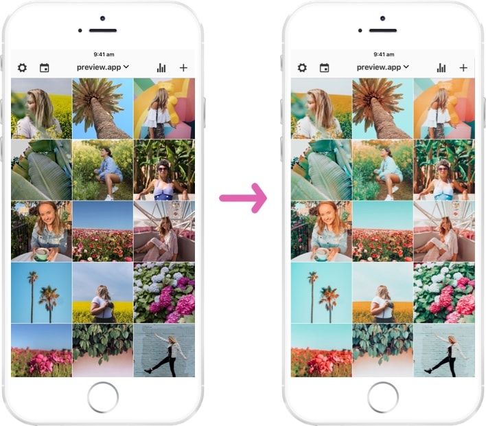 how to make your instagram feed look good