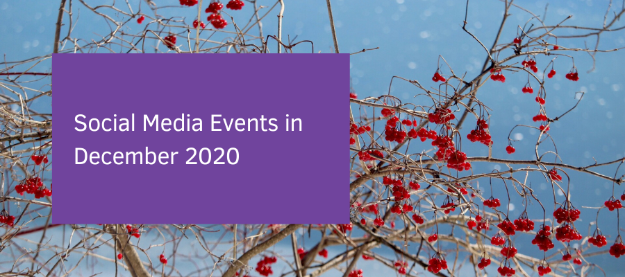 Social Media Events in December 2020