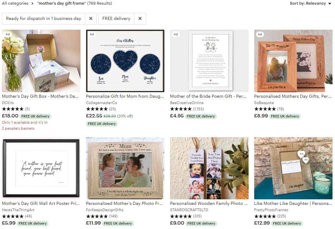 etsy search