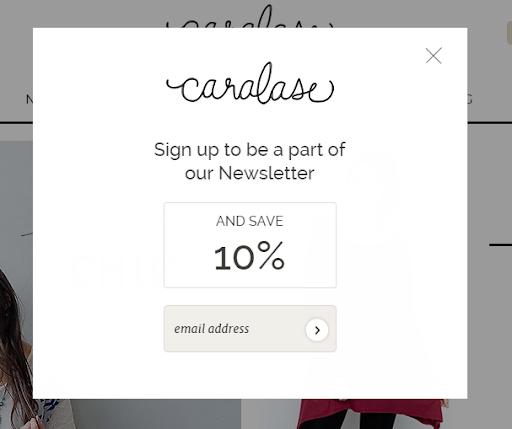 newsletter offer