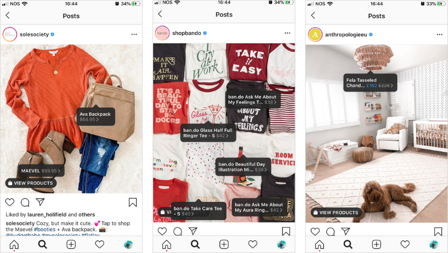 instagram-shopping-example