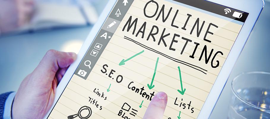 Online marketing - setting up an online business