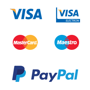 you can accept all major debit card and credit card card payments