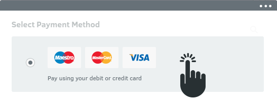 lets you take payments through lots of different