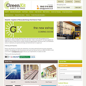 eCommerce website design - TonyGreenkit