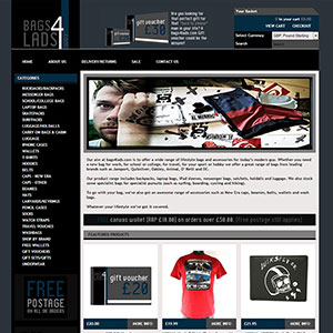 eCommerce website design - blowfishltd