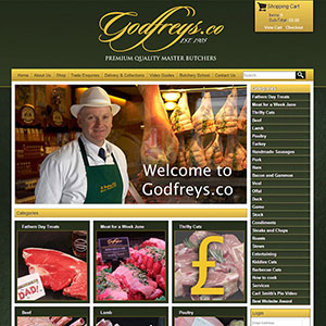 eCommerce website design - fgodfrey