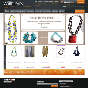 eCommerce website design - kirkup
