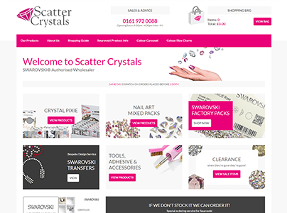 Scatter Crystals