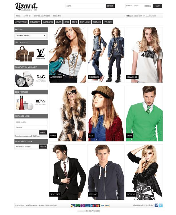 uk ecommerce website solution for just